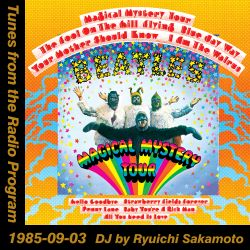 Tunes from the Radio Program, DJ by Ryuichi Sakamoto, 1985-09-03 (2019 Compile)