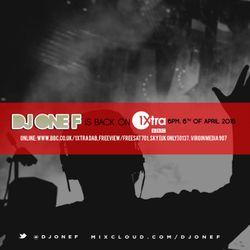 DJ OneF: BBC Radio 1Xtra Mix [April 2016] #WorkoutWednesday