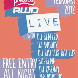 The Big Chill Presents RWD Live....Rattus Rattus Mix