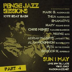 Penge Jazz Sessions May 2016 - Pt 4: MADONJAZZ