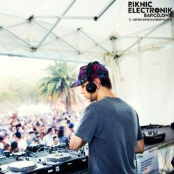 Tiga At Piknic Electronik Barcelona 09.08.2015 (DJ Set)