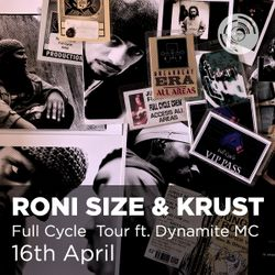 Roni Size and Krust Present Full Cycle - Live at Band On The Wall Manchester 16/04/2016
