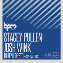 The BPM Festival / Josh Wink @ Kool Beach / 2013.JAN.6th / Ibiza Sonica