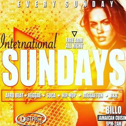 INTERNATIONAL SUNDAYS OCT.21.2018 MUSIC BY EXCESS GLOBAL SOUND