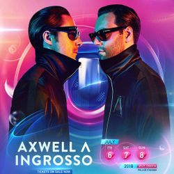 Axwell Λ Ingrosso LIVE @ Ultra Music Festival Europe 2018
