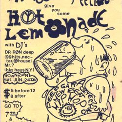Ron D Core - Hot Lemonade pt.1 (side.a) 1991