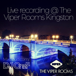 @DJOneF LIVE @ The Viper Rooms Kingston 14.09.17 [R&B/HipHop]