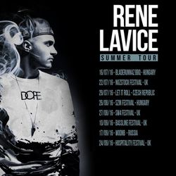 Rene LaVice (RAM Records - Toronto) @ Australia & New Zealand Tour Mix 2016 (15.06.2016)