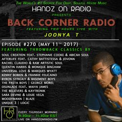 BACK CORNER RADIO: Episode #270 #ThrowBackThursday (May 11th 2017)