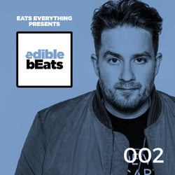 EB002 - edible bEats - Eats Everything live from STRAF_WERK, Rotterdam