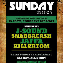 Sunday Session@Peppermint Lounge