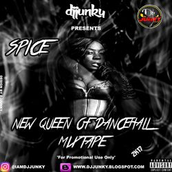 DJJUNKY PRESENTS - SPICE (NEW QUEEN OF DANCEHALL) MIXTAPE 2K17