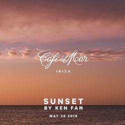 Café del Mar Ibiza Sunset By Ken Fan (May 26 2018)