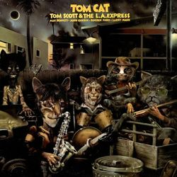 """Uptempo  """"catting about with Halle Cat"""" jazz."""