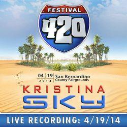 Kristina Sky Live @ 420 Festival (San Bernardino Fairgrounds, CA) [04-19-14]