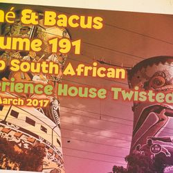 René & Bacus ~ Volume 191 (Deep South African Experience House Twisted Mix) (Mixed March 2017)