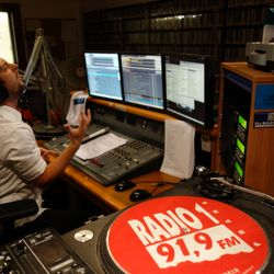 """Radio 1"" . Prague . CZ . February 2nd . 2018"