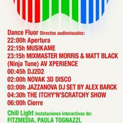Mixmaster Morris @ RECfestival Madrid Arena 2012