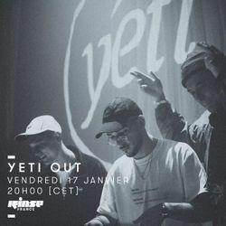 RINSE FRANCE : YETI OUT w/ Eri Yeti & Tom Yeti