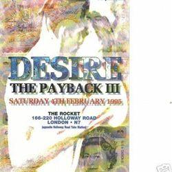 DJ Rap at Desire Payback 4th/Feb/1995