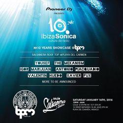 YOUSEF - IBIZA SONICA 10TH ANNIVERSARY SHOWCASE @ LA SALSANERA - THE BPM FESTIVAL 2016