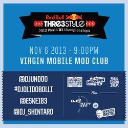 DJ Shintaro - Japan - Red Bull Thre3style World DJ Championship: Night 2