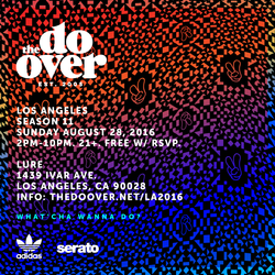 DJ Wonder at The Do-Over Los Angeles (08.28.16)