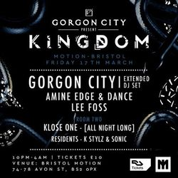 2017.03.17 - Amine Edge & DANCE @ Kingdom - Motion, Bristol, UK