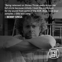 Interview: BENNY SINGS (Stones Throw Records) - Discussion hosted by LEXIS