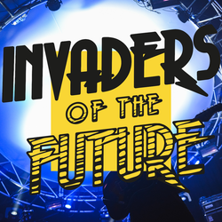 Invaders of the Future with The Sisters Gedge in cahoots with DIY 23.04.2018