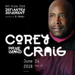 COUNTDOWN TO NYC PRIDE 2018 | COREY CRAIG