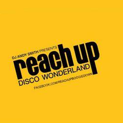 DJ Andy Smith Reach Up Disco Wonderland show 18.11.19 with guest mix by Luigi Figini