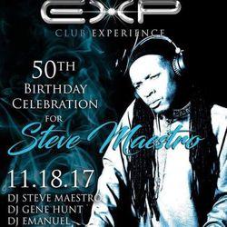 A Night @ Club EXP - Maestro's 50th Birthday Party - 18 Nov 2017(The Do-Over)
