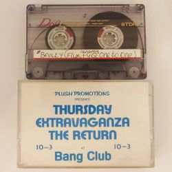 Bailey feat (Flux + GQ 'one to one')  - Thursday Extravaganza, Bang Club, Streatham, London 14-10-93
