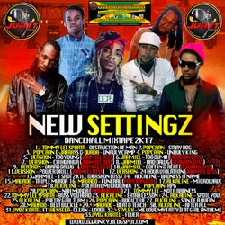 DJJUNKY - NEW SETTINGZ DANCEHALL MIXTAPE 2K17