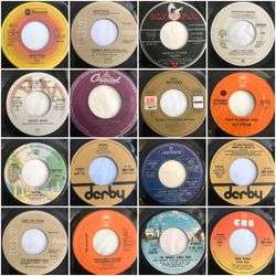 Toni Rese Dj: 16xFlipSide 45's - The B Side Pt.1 - Only 70's x 7""
