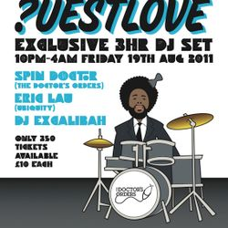 ?uestlove / Questlove exclusive mix by Chris P Cuts