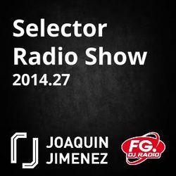 Selector Radio Show with Joaquin Jimenez 2014.27