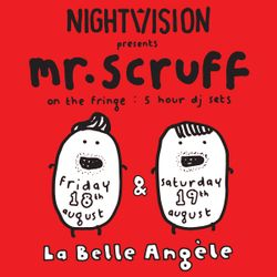 Mr Scruff DJ set from La Belle Angele, Edinburgh, Sat 19th August 2017