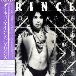 Prince ‎– Dirty Mind  1980  Japan