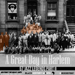 A Great Day In Harlem 1958 | 57 Jazz Legends | Mixed by A.T.M.S. | Part II