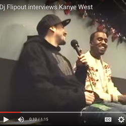 Flipout & Jay Swing - KANYE WEST - December 16th 2005 part 2