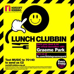 This Is Graeme Park: Nordoff Robbins Lunch Clubbin' Live DJ Set 10APR 2020