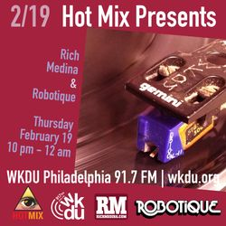 Hot Mix Set for WKDU (Philly) - 2/9/15