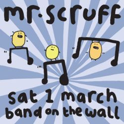 Mr Scruff DJ set from Band on the Wall, Manchester, Sat 1 March 2014