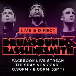 Drumsound & Bassline Smith - Live & Direct #13 [22-11-16]