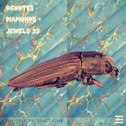 OCnotes Top Tree Diamonds & Jewels Mix #23