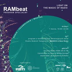 RAMbeat Radar - nowe brzmienia na 89,8 FM (19/02/20)