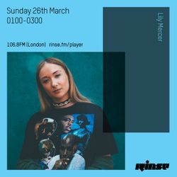 The Lily Mercer Show | Rinse FM | March 26th 2017 | Boldy James