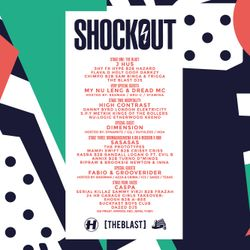 Shockout Cast 2018